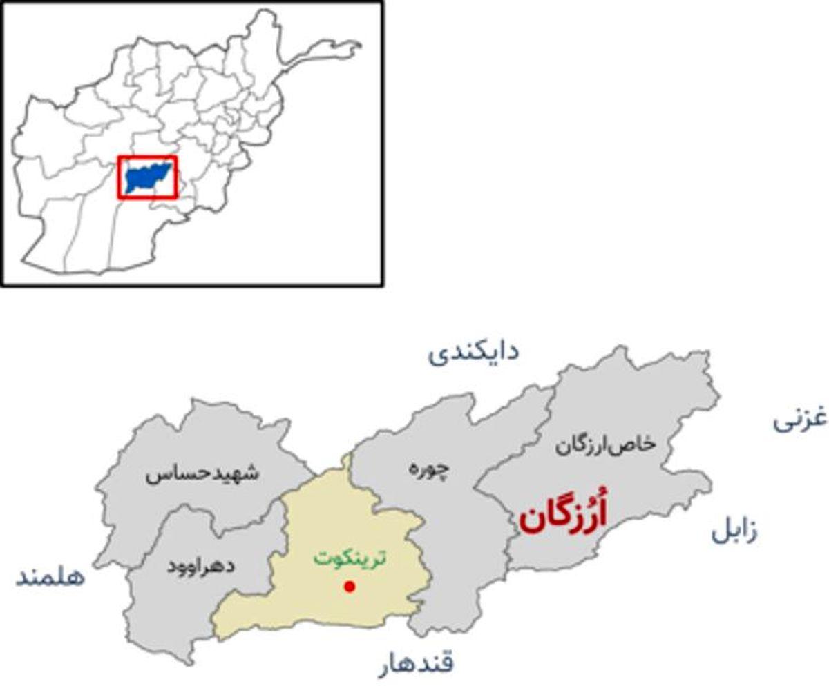 طالبان کنترل مرکز استان اورزگان را هم بدست گرفت