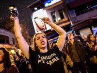 تظاهرات هزاران معترض به نتیجه رفراندوم در ترکیه +تصاویر