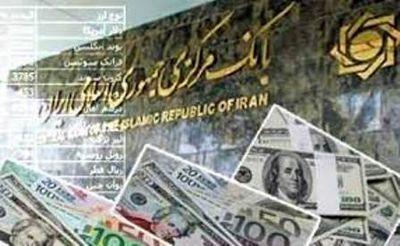افزایش نرخ ۲۷ ارز بانکی