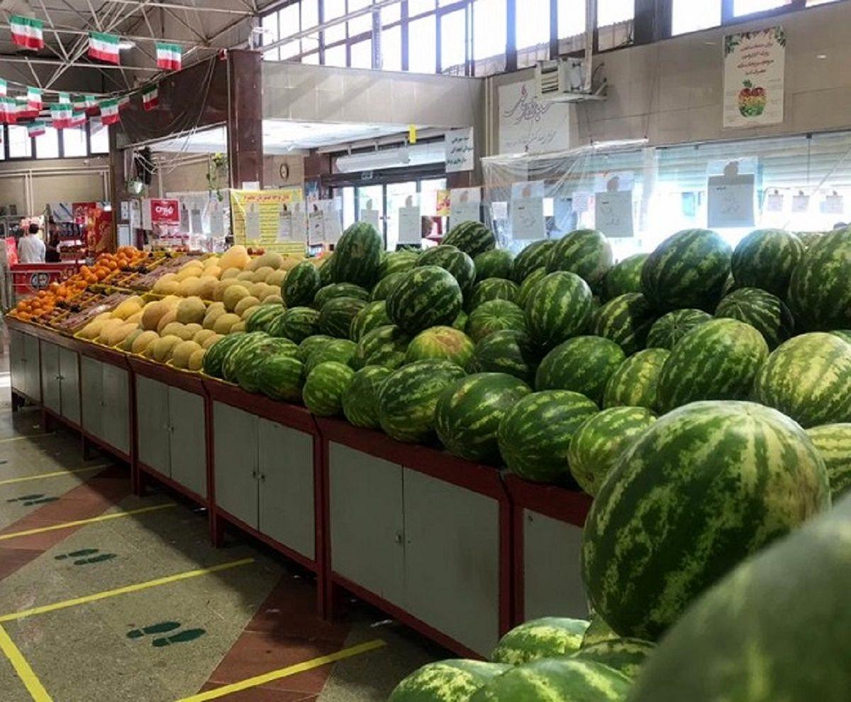 کاهش قیمت برخی محصولات در میادین میوه و ترهبار