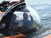 سفر پوتین با زیردریایی به اعماق خلیج فنلاند +فیلم