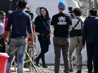 درخواست آنجلینا جولی برای پایان یافتن خشونتها علیه مسلمانان