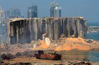 عکسی جدید از لحظه انفجار در بندر بیروت