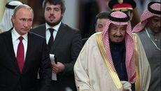 پوتین وارد عربستان شد +فیلم