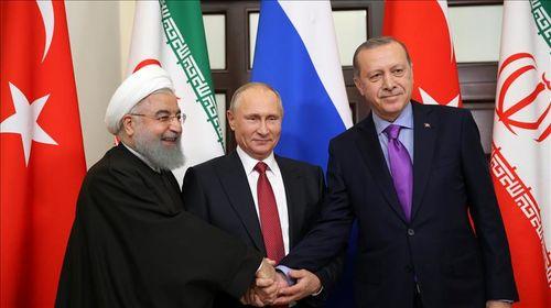 سران ایران، روسیه وترکیه دیدار میکنند