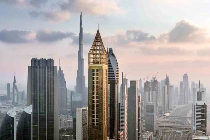 افتتاح هتل ۷۵ طبقه Gevora در دبی +تصاویر