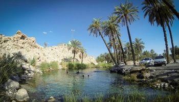 چشمه ای زلال و عجیب در استان هرمزگان +عکس