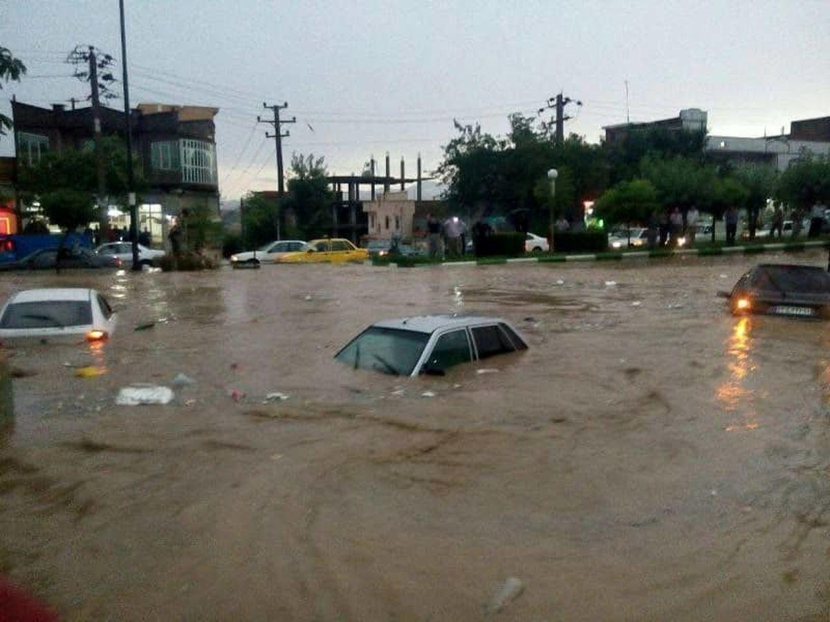 احتمال وقوع سیلاب در ۱۴استان