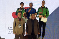 مدال طلا، نقره و برنز دوومیدانی قهرمانی آسیا برای ایران