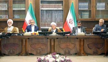 آخرین حضور آیت الله هاشمی رفسنجانی در جلسه مجمع تشخیص مصلحت نظام +تصاویر