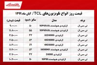 تلویزیون تیسیال چند؟ +جدول