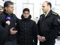 پسر ۱۳ ساله از چنگ سه آدمربا رهایی یافت +عکس