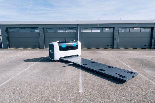 رباتهایی برای پارک ماشین در فرودگاه! +عکس
