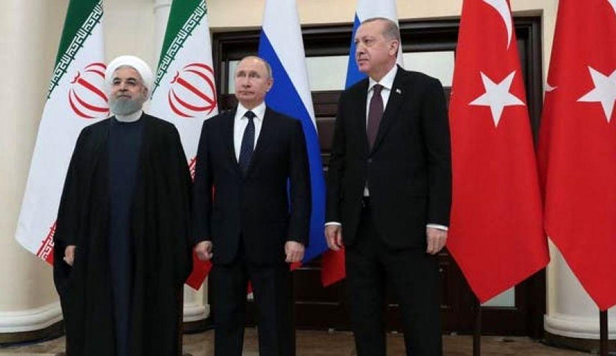 برگزاری ویدیو کنفرانس مشترک بین ترکیه، ایران و روسیه