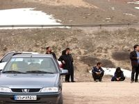 جلوگیری از ورود مسافران در محور سوادکوه +تصاویر