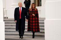 واکنش ملانیا به شایعات درباره احتمال طلاق از ترامپ