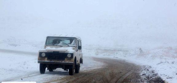 از امروز جادهها دوباره برفی میشود