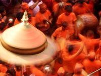 روش جالب نپالیها برای جشن گرفتن سال نو +تصاویر