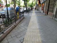 ساماندهی راه بندهای پیاده روها در سطح مناطق22 گانه