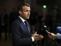 مخالفت رئیس جمهوری فرانسه با تعلیق فروش سلاح به عربستان