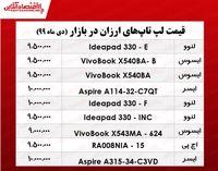 ارزانترین لپ تاپ چند؟ +جدول