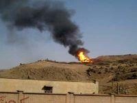 رانش زمین علت انفجار در خط انتقال اتیلن غرب است/ آتش سوزی تا فردا ادامه دارد