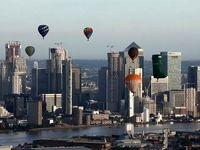 پرواز بالنها بر فراز لندن +فیلم