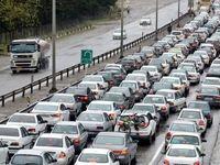 محورهای ورودی غرب مازندران به روی مسافران بسته شد