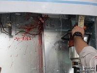 حادثه هولناک برای کارگر در کابین آسانسور +عکس