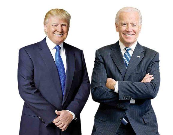 پیشتازی ۱۱درصدی بایدن از ترامپ در نظرسنجی سیانان