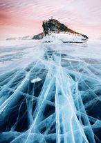 یخ زدن قدیمیترین دریاچه جهان! +عکس