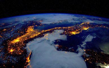 تصاویر فضانورد امریکایی از زمین