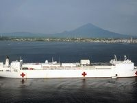 USNS مرسی؛ بیمارستان دریایی +تصاویر