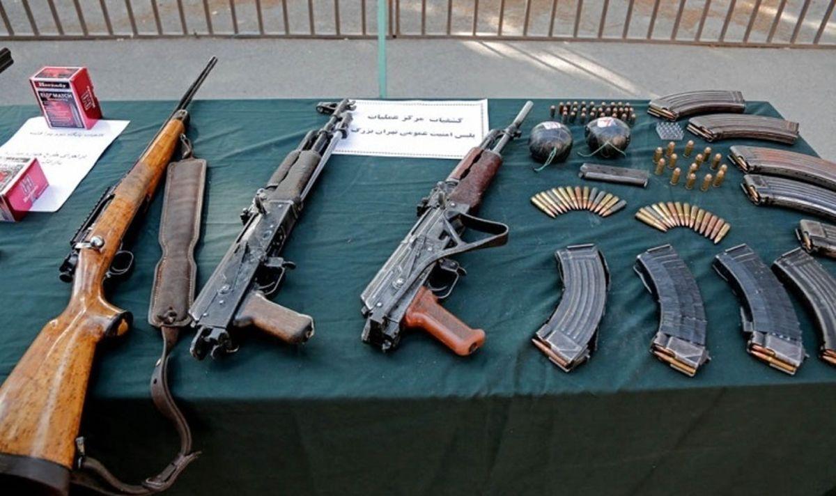 کشف سلاح جنگی در محله مجیدیه