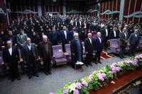 حضور روحانی در دانشگاه فرهنگیان +عکس