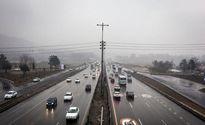 محورهای مواصلاتی شرق استان تهران لغزنده است