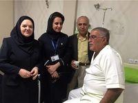 پیشکسوت استقلال در بیمارستان بستری شد +عکس
