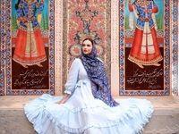 مدل زیباروی اروپایی در اماکن توریستی ایران +تصاویر