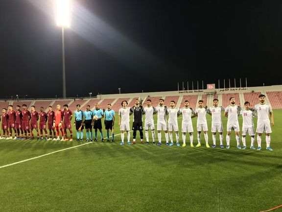قطر در آخرین دقیقه از شکست مقابل تیم امید ایران گریخت