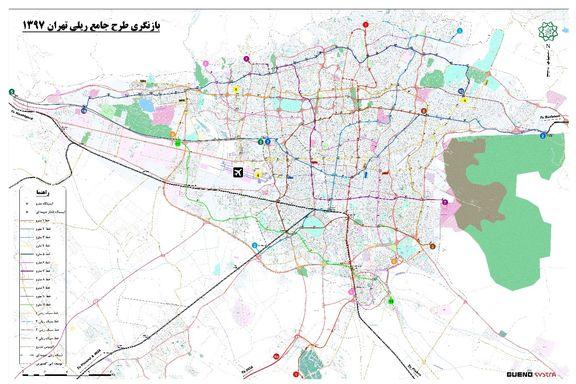 اطلاعات خطوط و نقشه مترو تهران/ متروسواران پایتخت بخوانند