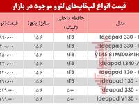 نرخ انواع لپ تاپ لنوو دربازار؟ +جدول
