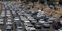 ترافیک سنگین در آزادراه تهران – کرج