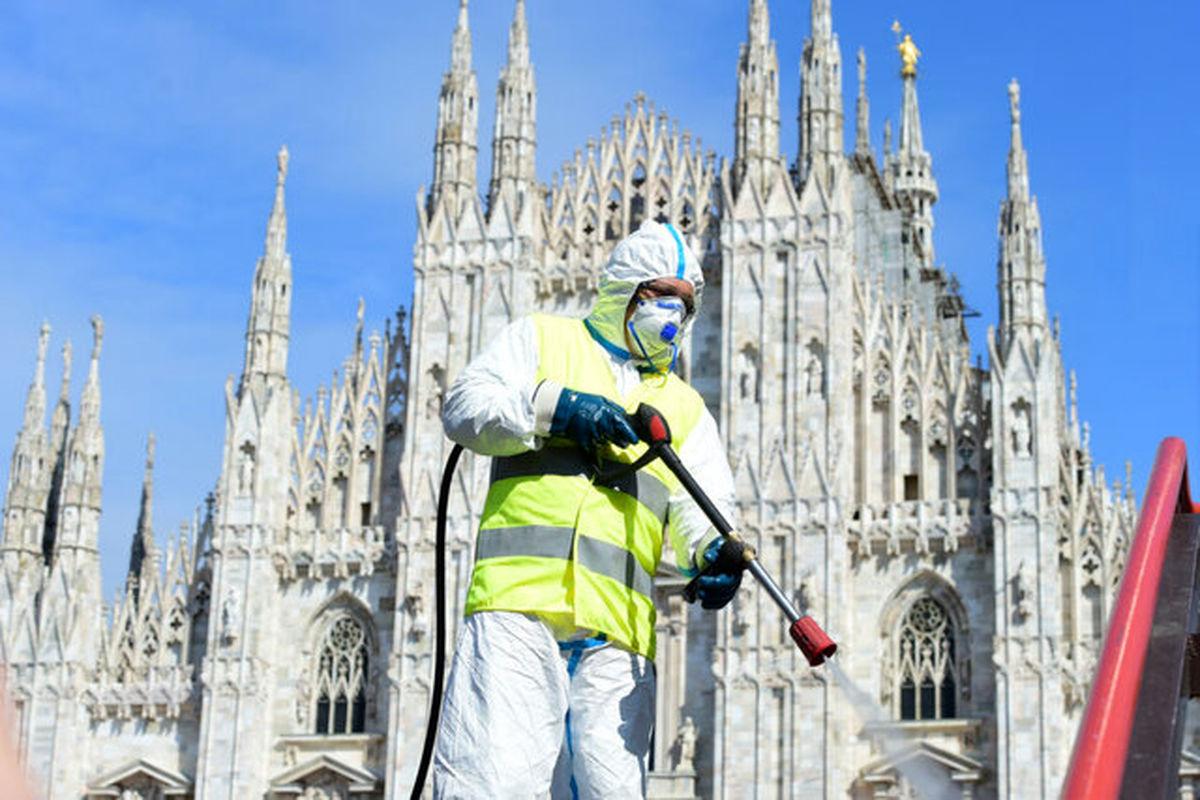اقتصاد ایتالیا ۱۳درصد آب رفت