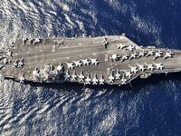 ناوهای جنگی آمریکا در دریای چین