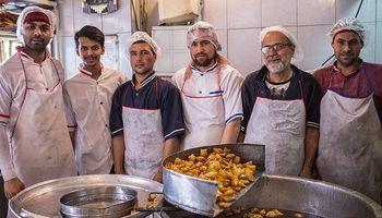اولین بامیهپزی تهران اینجاست +تصاویر