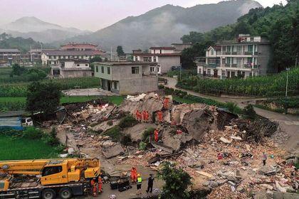 خسارات زلزله 6 ریشتری در جنوب چین +تصاویر