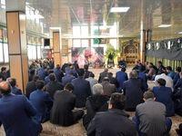 مراسم تجلیل از سردار شهید سلیمانی در بیمه آسیا برگزار شد