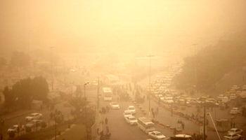 غلظت گرد و غبار در مهران به 28برابر حد مجاز رسید