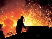 تولید فولاد خام ایران 27درصد رشد کرد