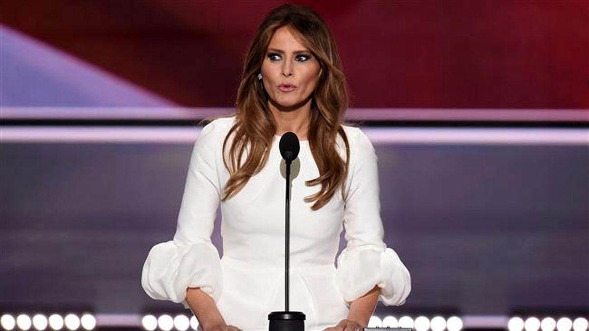 جنجال تازه همسر ترامپ